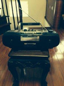 Radio cassette sony cfs-b5s mk2