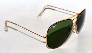 kính Rayban Aviator B&L. USA mạ vàng. Size 62-14