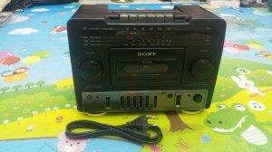 Cục giữa đài Radio Cassette SONY CFS-1030S (Đẹp xuất sắc)