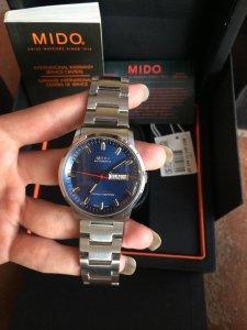 Đồng hồ mido commamder thụy sĩ nguyên bản