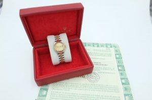 ( sold) Đồng hồ nữ Rolex 79173 mặt tia demi vàng 18k fullbox