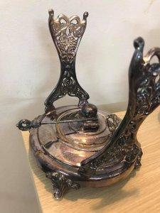 bộ bình và ly pha trà silver on copper