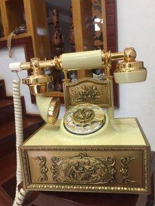 Điện thoại quay số cổ điển của Mỹ 1980 ( Có video thử máy)