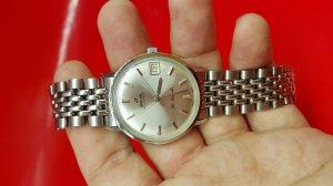 Đồng hồ Enicar nam vỏ ss xưa chính hãng