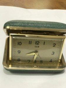 Đồng hồ để bàn hiệu ELGIN JAPAN- Đồ xưa - hàng xách tay từ Mỹ-