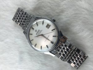"Omega Constellation Chronometer Automatic ""dog leg"" stailess steel Case & Bracelet Cal561"