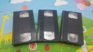 3 cuốn băng Video VHS nhạc vàng, Duy Khánh 1992 - Thanh Tuyền 2 - Tuấn Vũ & Như Quỳnh.