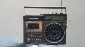 Đài Radio Cassette National Panasonic