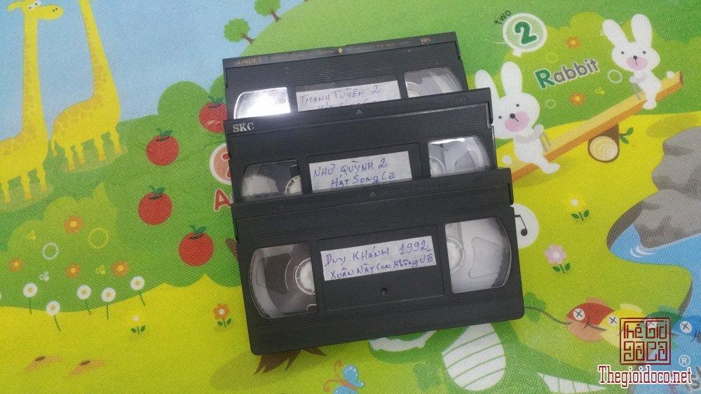 Băng Đĩa Cổ 3 cuốn băng Video...