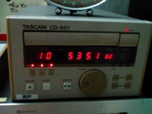 Dau cd tascam cd-601