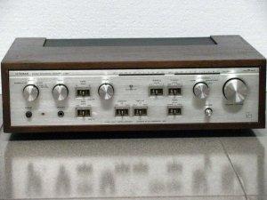 Amplifier cổ LUXMAN L48A vỏ cây