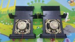 Cặp loa toàn dải Nhật Bản, tháo Tivi Toshiba 29 inh (Made in Japan)