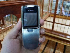 Nokia 8800 Anakin bạc đẹp 98% máy cực đẹp