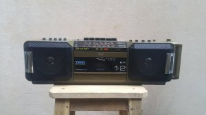Đài Radio Cassette SHARP WQ-T281Z (Made in Japan)