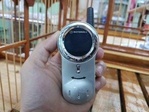Motorola V70 màu bạc nguyên zin vỏ sơn cát đẹp 98%