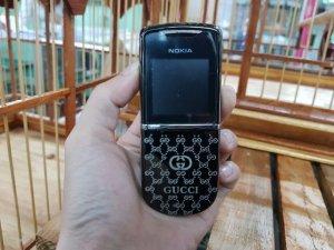Nokia 8800 Anakin Gucci nguyên zin đã thay vỏ zin đẹp 98%