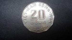 Hai Mươi Đồng VNCH 1968