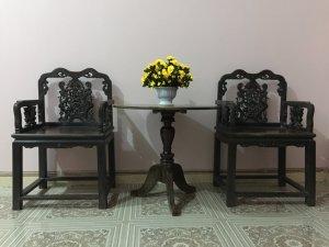 ghế gỗ trắc cổ