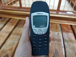 Nokia 6210 màu đen vỏ đã sơn lại nguyên zin đẹp 98%