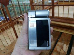 Nokia N92 màu bạc nguyên zin cực độc đẹp 95%
