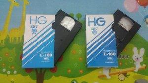 2 cuốn băng Video VHS tiếng hát Hương Lan và Phương Diễm Hạnh (Băng mới nguyên 100%)