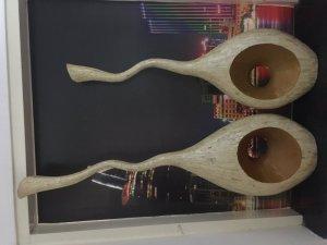 Bán 2 cặp bình gốm và vỏ ốc