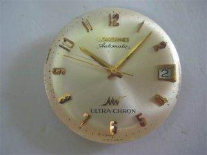LONGIES ULTRA - CHRON 36.000 Dao Động 14K Gold Cọc Số Học Trò