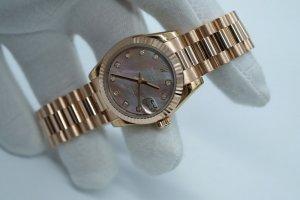 SOLD - Đồng hồ Rolex Date Just 178275 size 31mm vàng hồng 18k