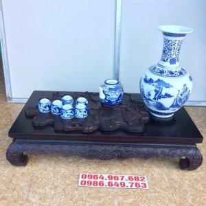 văn kỉ uống trà và trưng đồ gỗ Lim cũ kt dài 71 cm