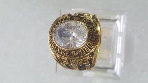 Nhẫn hợp kim mạ vàng GP State Colleges Glassboro 1973