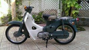 Honda cub 50-78 zin.