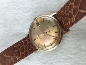 Omega Seamaster Automatic solid 18k Rose gold Case & Dial Cal562
