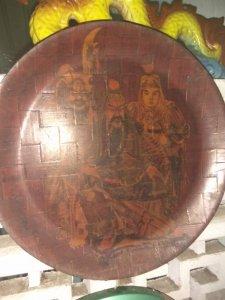 Đĩa gỗ thời xưa
