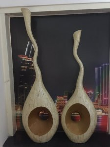 Bán 2 cặp bình vằng vỏ ốc và Gốm