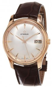 Eterna Matic Heritage Vaughan 18k Gold New Full Box