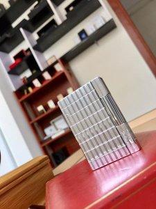 S.T.Dupont Gasby Silver . Bạc Vân