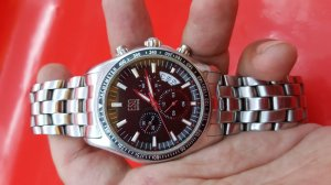 Đồng hồ ESQ nam 6 kim chính hãng mặt bao công