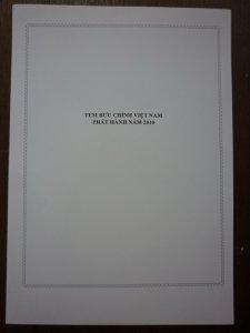 Tem Việt Nam phát hành năm 2010 đủ bộ
