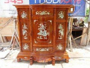 Tủ thờ gỗ căm xe Việt Nam