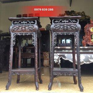 giao lưu đôn gỗ lim cũ hàng đẹp kt cao 79 mặt vuông 34 cm  0979 839 286  http://dogominhchi.com