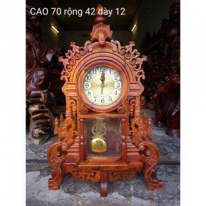 Đồng hồ để bàn cao 70cm ngang 42cm