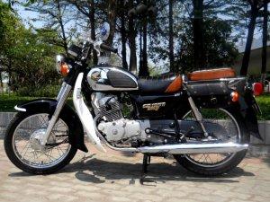 Honda CD benly 125 nhập khẩu Campuchia đẹp leng keng