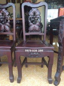 Sản Phẩm - bộ ghế sen lối tầu gỗ gụ - gọng gàng - tinh tế - LH 0979 839 286