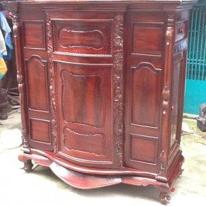 tủ thở xưa gỗ muồng