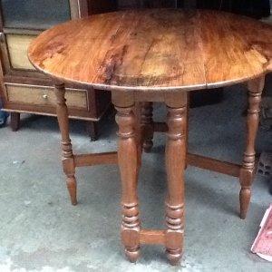 bộ bàn ăn tròn 10 ghế gỗ hương