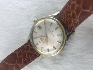 "Omega Constellation Chronometer Automatic ""dog leg"" demi 14k gold Cal564"