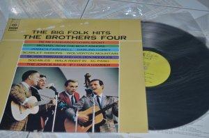 Đĩa than nhựa The Brothers Four- The Big Folk hits