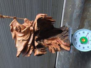 Tượng Sư Tổ Đạt Ma múa quyền cao 80 cm