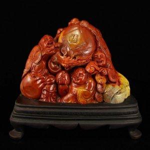 Tượng đá Shoushan Trung Quốc - Tàng quyền