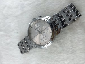 Omega Prestige DeVille Chronograph Mechanic Cal861 stainless steel Case & Dial